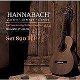 Hannabach 653089 Série 890 Cordes pour Guitare Classique