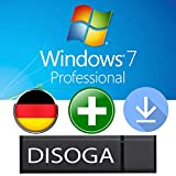 Windows 7 Professional Lizenzschlüssel mit Bootfähigem DISOGA USB-STICK