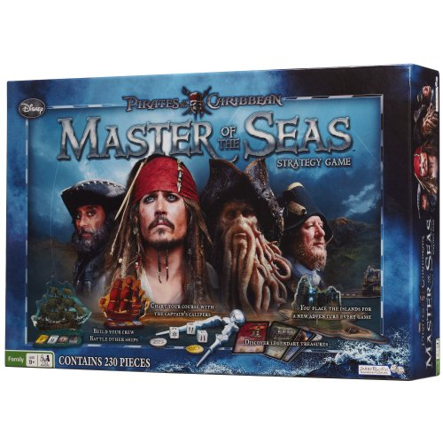 Pirates of the Caribbean - Master of the Seas (Strategy Board Game) (Game N Der Captain Master)