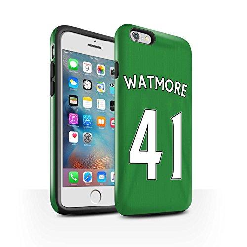 Offiziell Sunderland AFC Hülle / Glanz Harten Stoßfest Case für Apple iPhone 6S+/Plus / Pack 24pcs Muster / SAFC Trikot Away 15/16 Kollektion Watmore