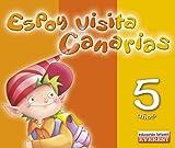 Espoy visita Canarias. Magos y Genios 5 años: Educación Infantil (Cuadernos de Comunidades Autónomas)