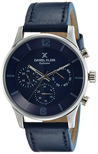 Daniel Klein Exclusive-Gents Analog Blue Dial Men's Watch - DK11739-3