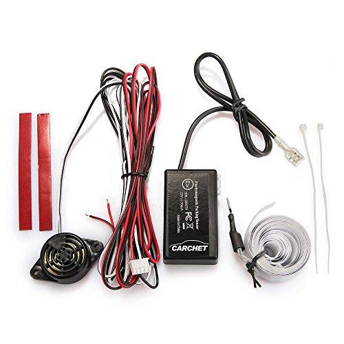 CARCHET® Sensor Radar Aparcamiento Pantalla Sonido Alarma para Coche Auto Universal