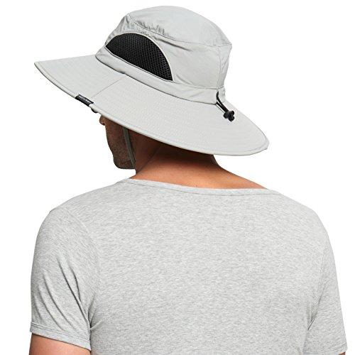 EINSKEY Sombrero Hombre Verano Sombrero Pescador de ala Ancha Plegable y  Impermeable. 2e3bacf779ff