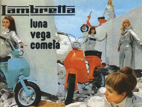 Lambretta Lui Serie Kunstdruck