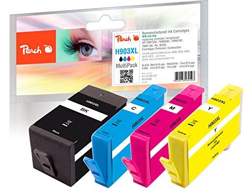 Peach Spar Pack Tintenpatronen kompatibel zu HP No. 903XL