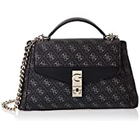 Guess Womens Handbag, Coal - SG767120