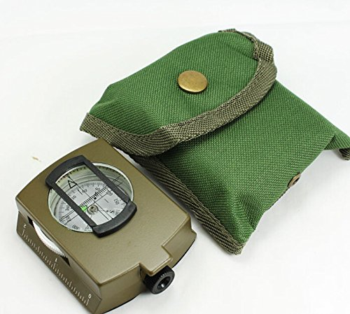 Professional Multifunction Compass Pocket Military Army Geology Compass /w Neck Strap Belt Carry Pouch TK-4580