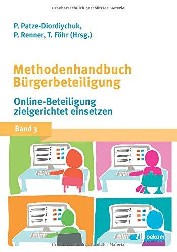 Methodenhandbuch Bürgerbeteiligung: Online-Beteiligung zielgerichtet nutzen Buch-Cover