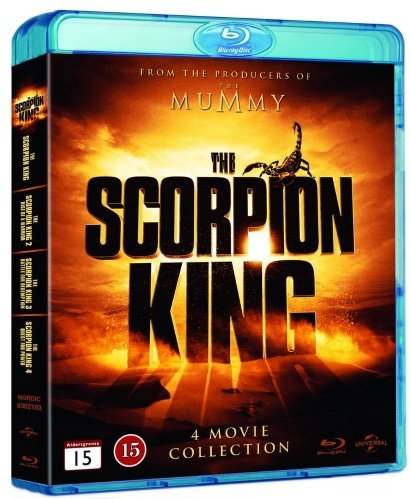 The Scorpion King (4 Film Collection) - 4-Disc Set ( The Scorpion King / The Scorpion King 2: Rise of a Warrior / The Scorpion King 3: Battle for Redemption / The Scorpion King 4: [ Origine (Blu-Ray)