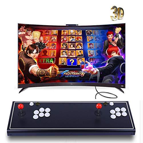 Pandora's Box 3D Home Arcade Konsole, Doppelstock 1080P Retro-Videospiele TV-Spielekonsolen, 2350 Klassische Spiele in 1 Arcade, Modell VQ05