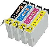 4er Pisco Inks T0615 Druckerpatronen für Epson Stylus D3850 Stylus D4200 Stylus D68 PE Stylus D88 Stylus D88 Plus Stylus DX3800 Stylus DX3850 Stylus DX4200 Stylus DX4250 Stylus DX4800 Stylus DX4850