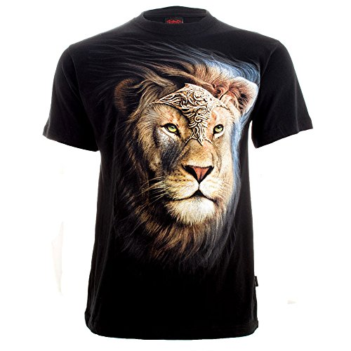 T Shirt Majestic Spiral Direct (Nero) - Medium
