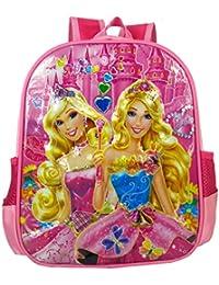 SurprizeMe 10 Iiters Children School Bag, With 3D Design Printed Dora School BackPack, Color: Pink