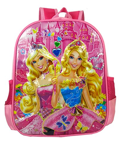 SurprizeMe 10 Iiters Children School Bag, With 3D Design Printed Dora School BackPack, Color: Pink