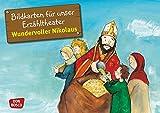 Bildkarten für unser Erzähltheater: Wundervoller Nikolaus. Kamishibai Bildkartenset. Entdecken. Erzählen. Begreifen. Geschichten von Heiligen und Vorbildern.