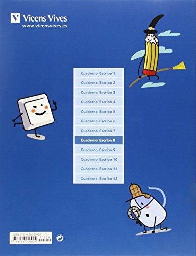 Escribo. Cuaderno De Expresión Escrita. 8 - 9788468220024