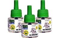 CERO HERBAL Mosquito Repellent for ALL BRANDS of Vaporiser Machines 'COMBO PACK' (135ml)