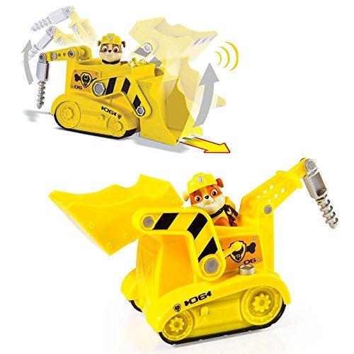Paw Patrol - Patrulla Canina - Selección - Vehículos de lujo con Sonido, Figura:Rubble