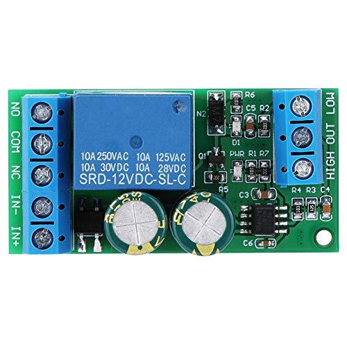 Qiterr Controller Switch-Modul, 12V Wasserstand Automatische Flüssigkeitskontrolle Schalter für Aquarium Aquarium Smart-draht Com