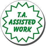 ST26 - T.A. Assisted Work Teaching Assistant School Marking Stamper