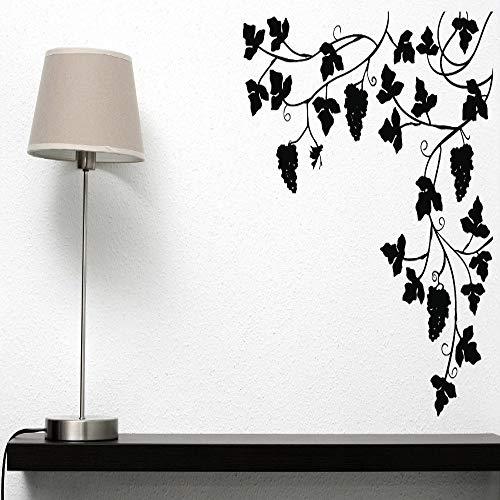 Neues Design Hot Wall Stickrs Schlafzimmer Romantische Vinyl Aufkleber Aufkleber Kunstwand Spa Salon Decor Mädchen Blumenhaar Brabershop ~ 1 120 * 110 cm