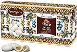 1 Kg Gangemi Confetti - Weichen Hochzeitsmandeln Geschmack Beerenfrüchte Klassische Italienische Hochzeit Gastgeschenke - Weiß - (ca. 180 Stück)