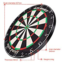 WIN.MAX Bristle Steel Dartboard Masse