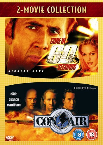 Gone In 60 Seconds/Con Air [DVD] by Nicolas Cage (Nicolas Cage, Con Air)