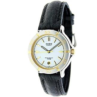 CASIO LX-502L-7AV – Reloj analógico de señora con calendario – Sumergible