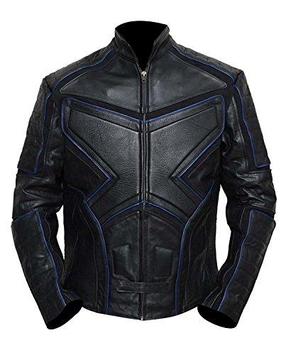 Schwarzes Wolverine Kostüm - Fashion_First Herren X Wolf Motorrad-Kostüm, gepolstert,