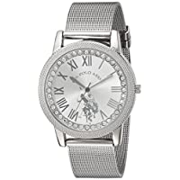U.S. Polo Assn. Dress Watch For Women Analog Metal - USC40109