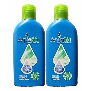 2x Aqua Bio Superkonzentrat natürlicher Wasserbett Conditioner - Wasserbettkonditionierer ohne Chemie gegen Umkippen, Luft und Gerüche im Wasserbett