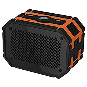 Bluetooth Speakers Waterproof, Mpow Armor Portable Wireless Bluetooth 4.0 Shower Speakers with Additional 1000 mAh Emergency Power Bank Function and Splashproof Shockproof Dustproof ,5W Strong Drive,A2DP/AVRCP for iPhone, iPad, Samsung, Nexus, HTC and More