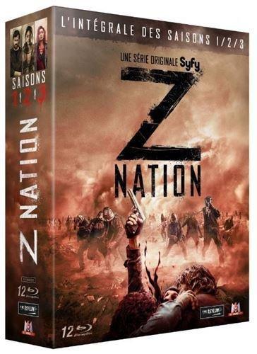 Z Nation - L'intégrale des saisons 1/2/3 [Blu-ray]