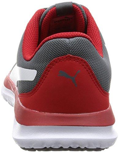 Adulte 04 Bassi Mixte Flext1 Eu Puma Gris puma 40 5 tranquilla Sneakers Paralume q7wInET