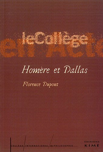 Homre et Dallas : Introduction  une critique anthropologique