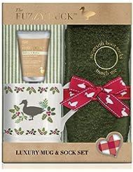 Baylis & Harding Put Your Feet Up Gift Set, Fuzzy Duck Festive, Mulberry and Mistletoe