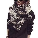 TianWlio Frauen Schals Frauen Neue Schal Schal Cosy Decke für Frauen Lady