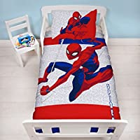 Spiderman Metropolis - Juego de Funda de Edredón para Niño