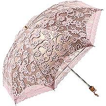 Katomi Creative paraguas UV paraguas sombrilla de encaje