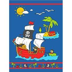 "Placa deALU Dibond ""Pirates"" de Fluffy Feelings, 120 x 160 cm."