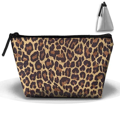 Portable Makeup Bag Organizer Travel Magic 3D Printing Cool Cheetah Leopard Cosmetic Bags Brush Storage Pouch for Women Purse cosmetic bag -