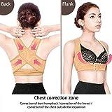 Einstellbare elastische Rücken Frauen-Gurt-Support Lage-Korrektor-Klammer-Stütz Lage-Schulter-Corrector Gesundheitswesen Hautfarbe - L L