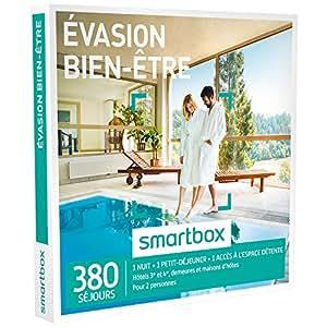 SMARTBOX - Coffret Cadeau - Evasion Bien-être - 290 Séjours : Maisons d'hôtes, Hôtels d'exception, Châteaux, Demeures de charme