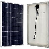 ECO-WORTHY 12V Pannello Solare Fotovoltaico 100W - Poly - Pannelli solari 100 Watt 12 Volt