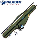 Paladin Concept-Combo Pilk Dorsch Makrele 240cm 200g + Rolle + Schnur - Meeresangelset, Meeresrute, Pilkset, Pilkrute, Bootsrute
