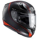 HJC Casque Moto RPHA 11 Riberte MC-1SF, Noir/Rouge, Taille M