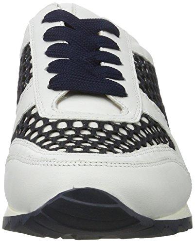 Hassia Barcelona, Weite H Damen Sneakers Weiß (weiss/blue)