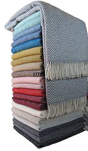 stts international wohndecke wolldecke decke sehr weiches plaid kuscheldecke 140 x 200 cm wolle milano alle